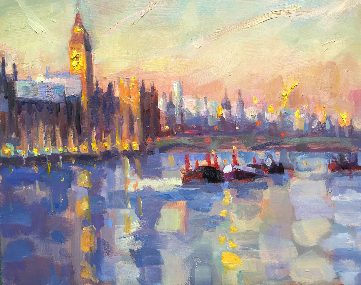 Lucy Kent<br>Big Ben at Sunset