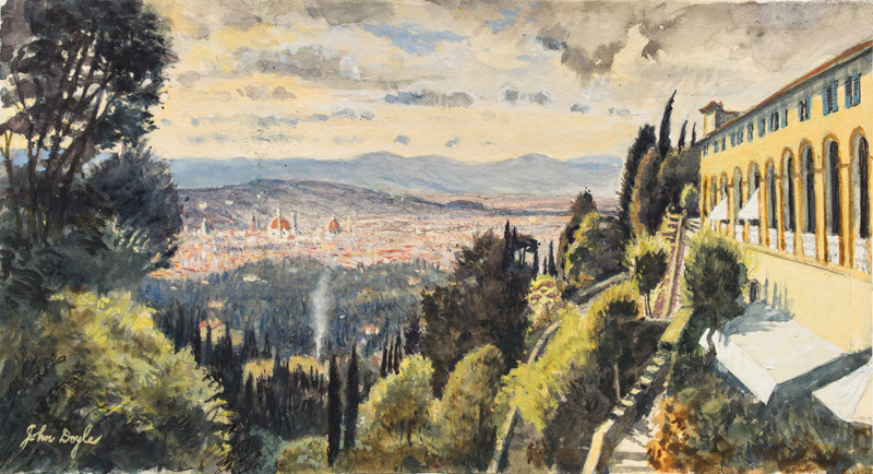 Florence from the Villa San Michele Fiesole