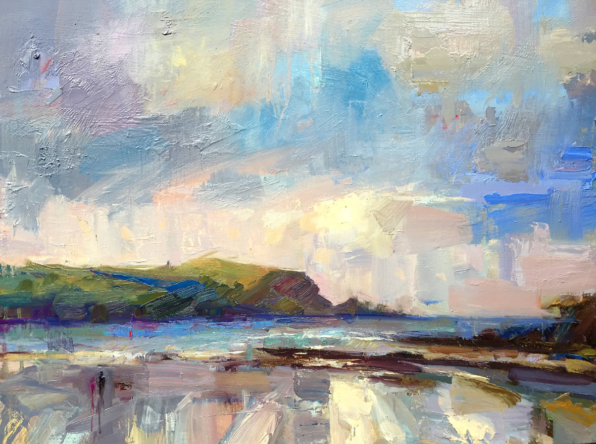Lucy Kent<br>Stormy Daymer Bay, Cornwall