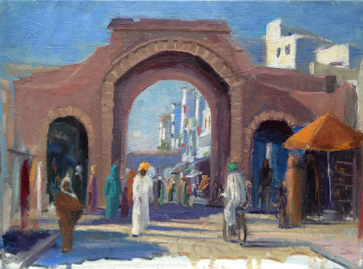 Daisy Perkins<br>Souks in the Sun, Essaouira