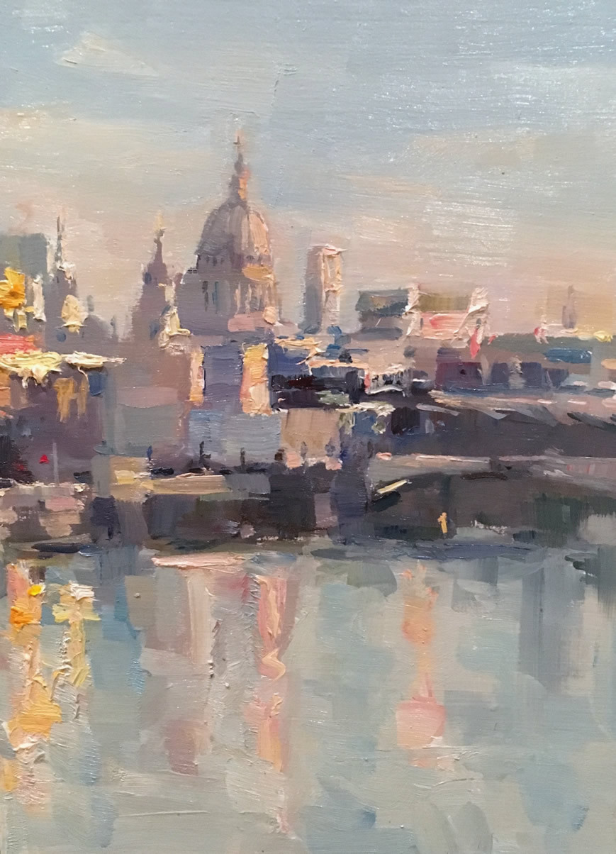 Phoebe Dickinson<br>St Paul's on a Frosty Morning