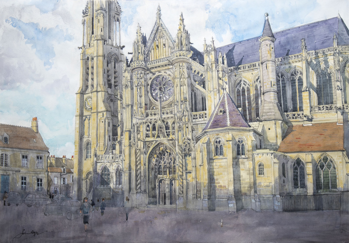 The Cathedral of Senlis