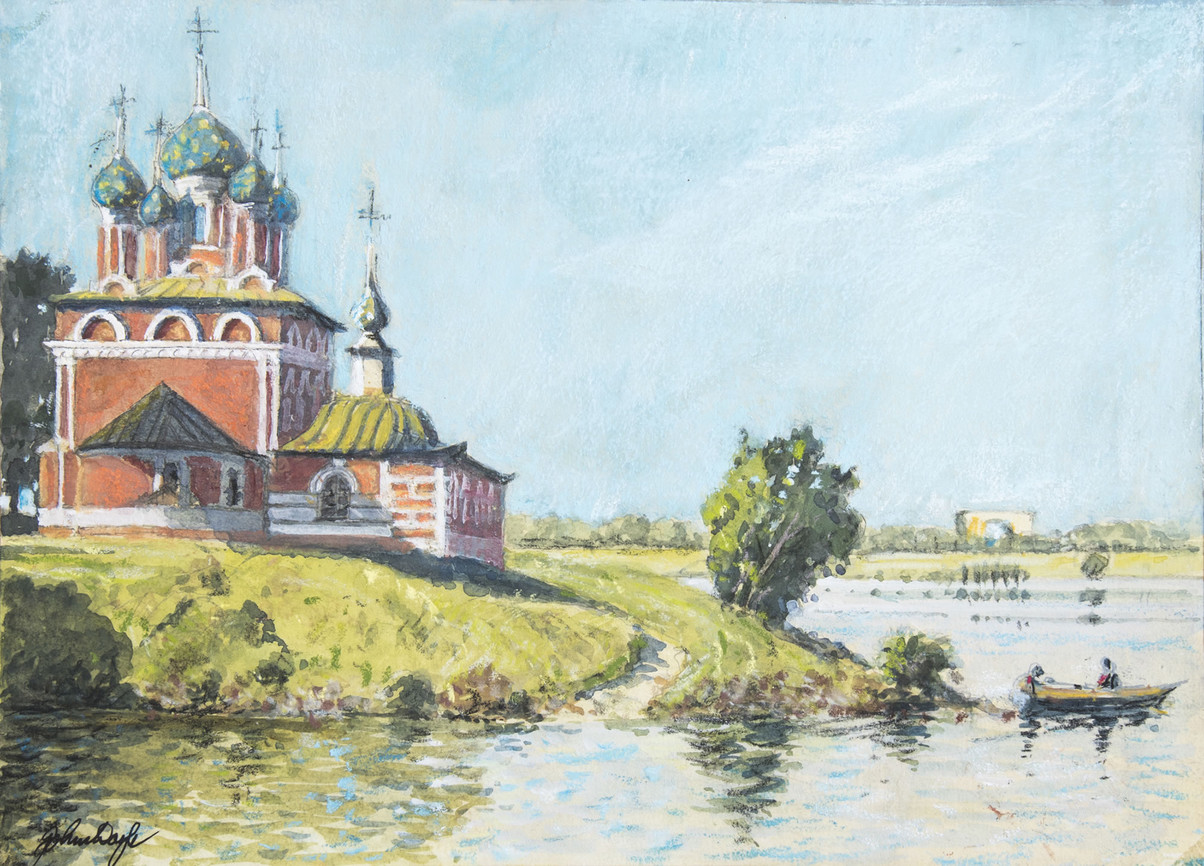 The Church of the Spilled Blood, Uglich, Volga
