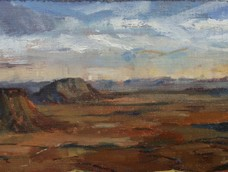 Flat Top Mountains in the Kalahari