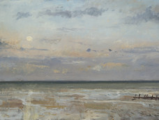 Moonrise over the Sea, Littlestone