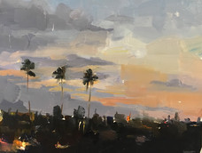 Phoebe Dickinson<br>Moroccan Palm Trees Dusk