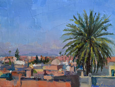 Phoebe Dickinson<br>Palm tree at El Fenn