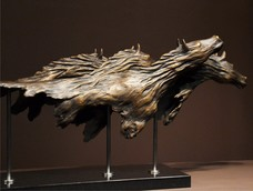 Noel Ashton's 'Wild and Free'  Bronze sculpture , Edition of 9, 1140 x 200 x 400 mm