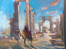 Palmyra, the Venice of the Desert, Now only a Memory