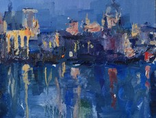 St Paul's by Night, Phoebe Dickinson