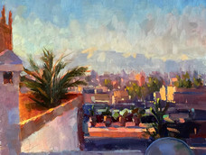 Lucy Kent<br>Rooftops, Morning Light, Marrakech