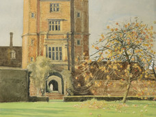 Sissinghurst, the Tower and Apple Tree