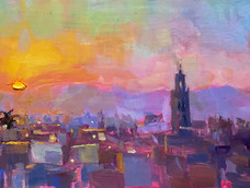 Lucy Kent<br>Sunrise over Rooftops