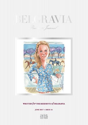 Our Belgravia Cover Girl